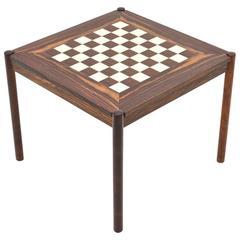 Flip-Top Chess Table by Georg Petersen, Denmark, 1960s