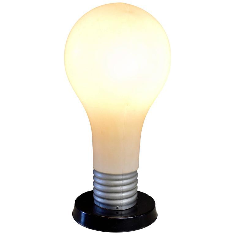 Massive Lightbulb Table Lamp
