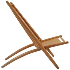 Swedish Beech Congo Chair by Alf Svensson for Bra Bohag/Haga Fors