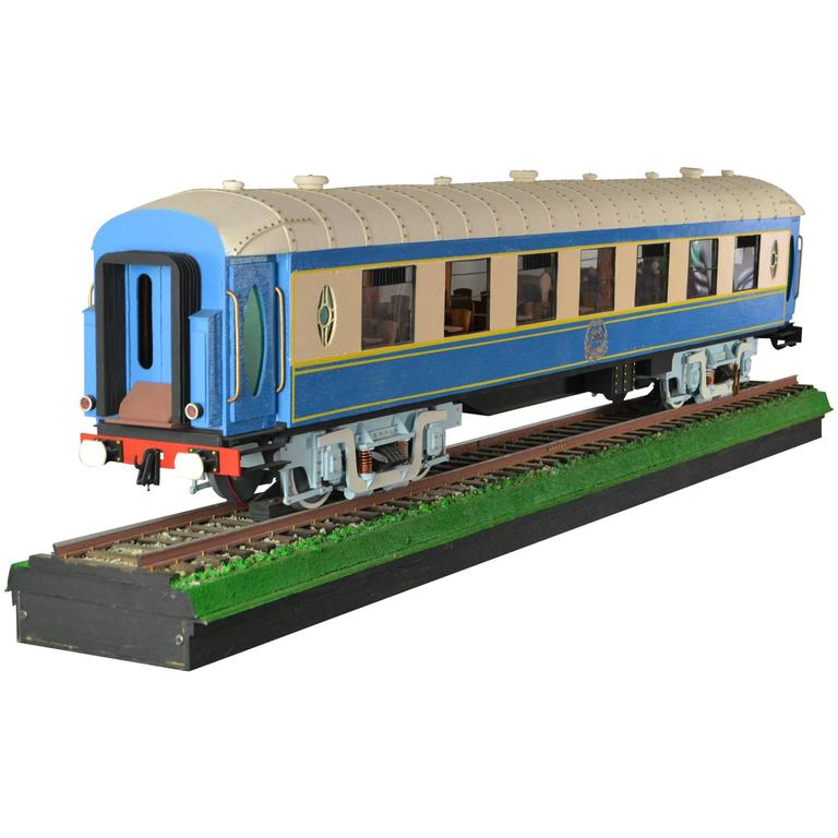 Huge model orient express luxury train for sale at 1stdibs for Orient mobel