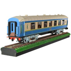 Large Model of the Orient Express Luxury Train