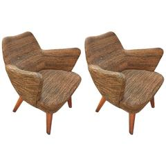 Pair of Armchairs Designed by Gio Ponti in 1940