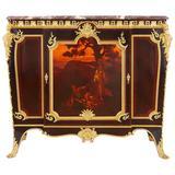 Ormolu, Kingwood and Vernis Martin Side Cabinet by Linke