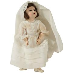 Doll from the Beginning of the 20th Century Dressed for Sunday