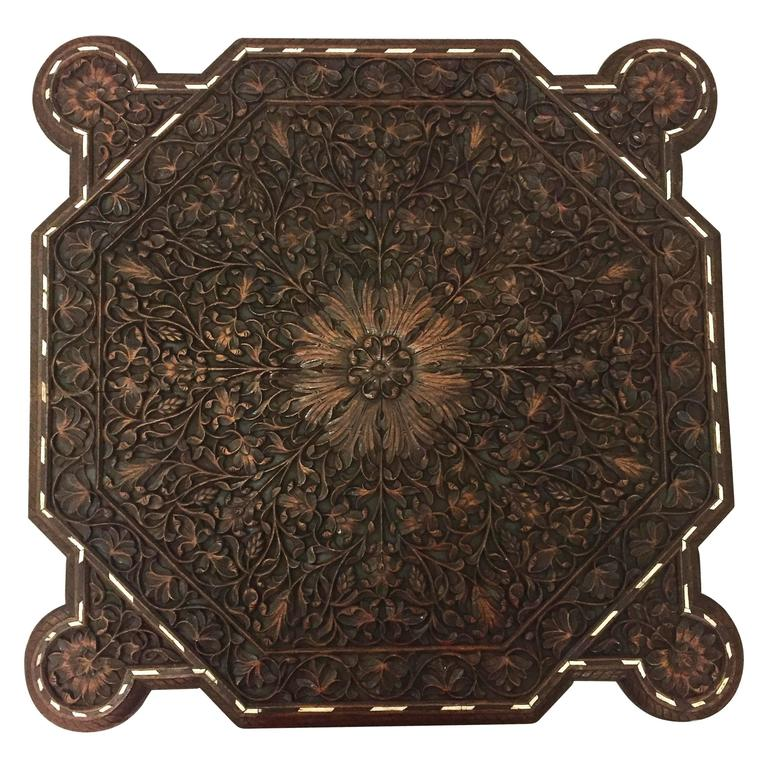 19th Century Indian Wood Table