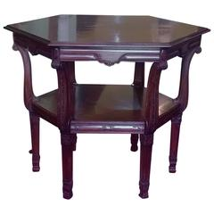 Late 19th Century Rosewood Centre Table