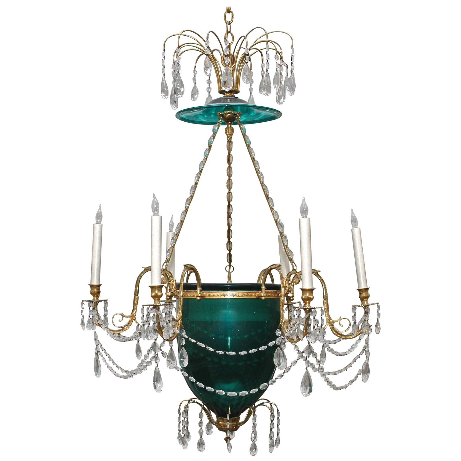 slag and arts chandeliers architectural glass chandelier antiques dering lighting hall crafts metal green