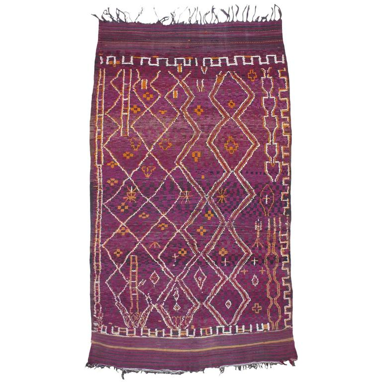 Beni Bou Yahi Berber Moroccan Carpet