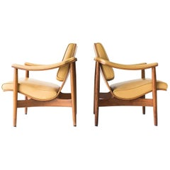 Modern Thonet Lounge Chairs