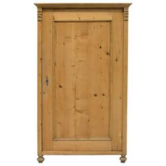 Small 19th Century Austrian Armoire in Pine