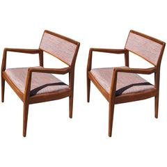 "Pair of ""Playboy"" Armchairs, Model C140, by Jens Risom"