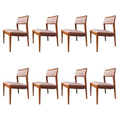 """Set of Eight """"Playboy"""" Side Chairs, Model C240, by Jens Risom"""