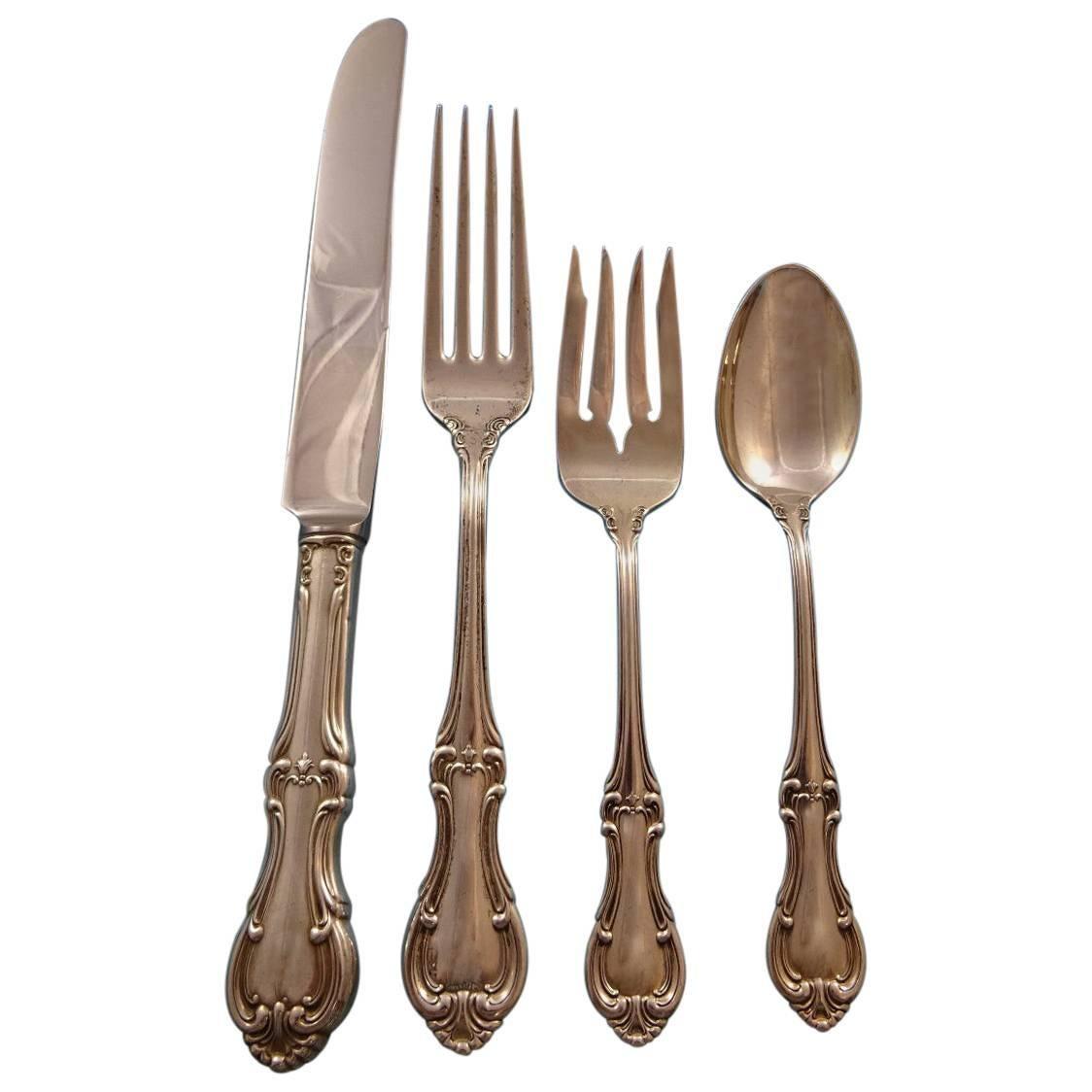 """International Joan of Arc Sterling Silver 6-1//8/"""" Salad Fork No Monogram"""