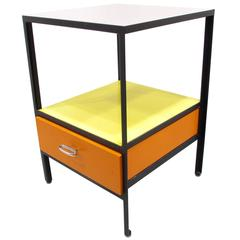 George Nelson Steel Frame Side Table