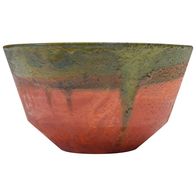 Luscious Bowl by Marcello Fantoni For Sale