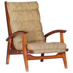 Adjustable Danish Armchair, circa 1960