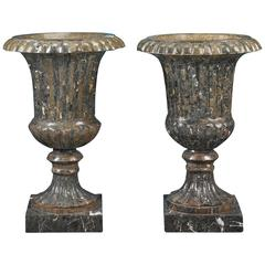 Neoclassical Marble Urns