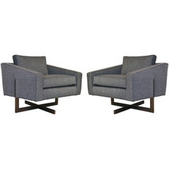 Pair of Mid-Century Modern Cantilever Chairs