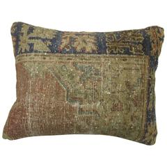 Shabby Chic Oushak Rug Pillow