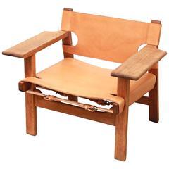 Spanish Chair by Børge Mogensen for Fredericia, Denmark Model nr 2226