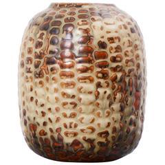 AXEL SALTO Budding Vase in Glazed Ceramic