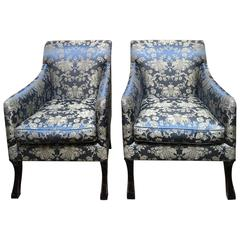 Pair Exquisite Rose Tarlow Armchairs