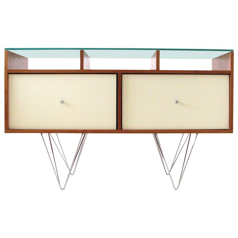 Glass Top Credenza or Bar Service by Bobo Modern Living 1
