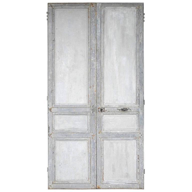 Pair of Early 19th Century French Doors 1