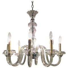 Traditional Georgian Style Crystal Chandelier