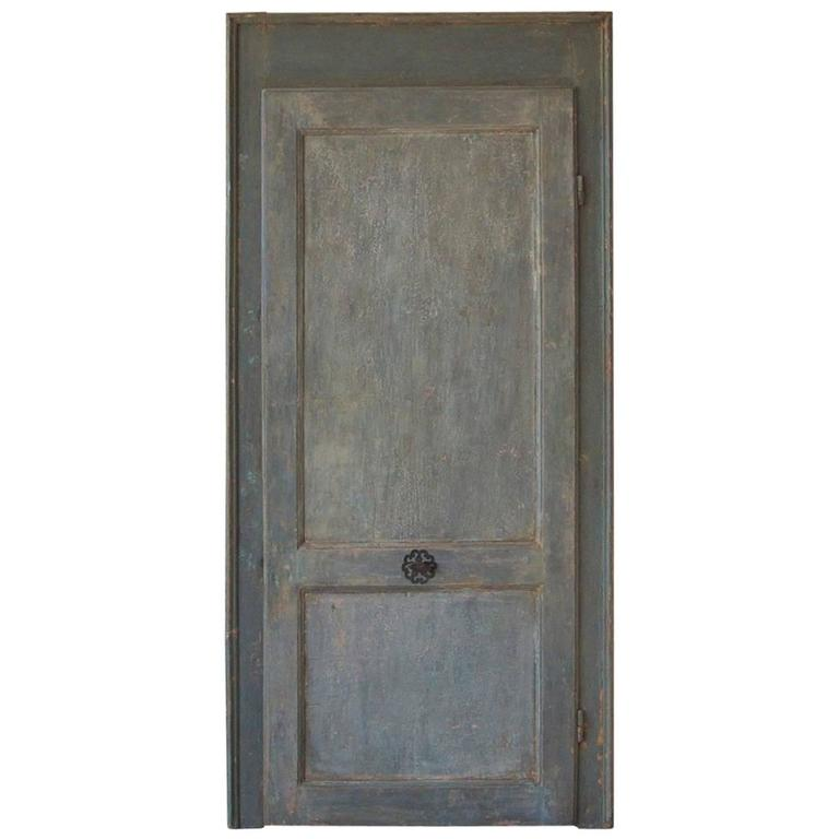 18th Century Italian Door with Frame