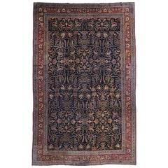 Antique Persian Mashhad Palace Size Rug with Modern Victorian Style