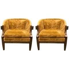 Pair of Baker Club Chairs