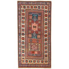 Antique Caucasian Kazak Rug, circa 1875