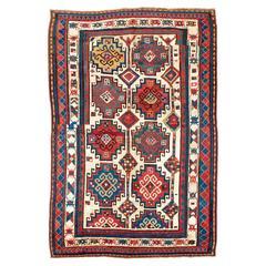 Antiker kaukasischer Moghan Kazak Teppich