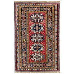 Antique Caucasian Chi Chi Shirvan Rug