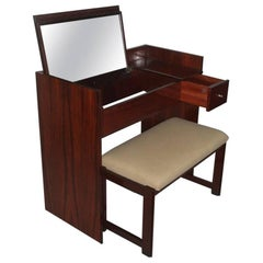 Minimal  Vanity Italian Design MIM Production Rosewood