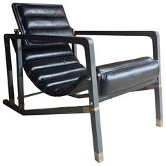 Iconic Transat Chair by Eileen Gray, Manufactured by Aram, Late 20th Century