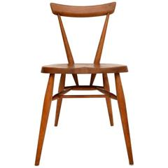 Retro Solid Elm Chair by Ercol Vintage, 1950s