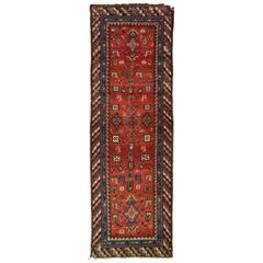 Antique Caucasian Shahsavan Runner