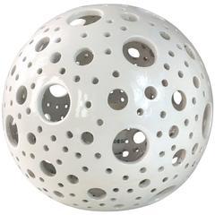 Ceramics Spherical Table Lamp
