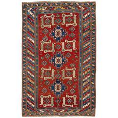 Dazzling Antique Caucasian Karagashli Rug