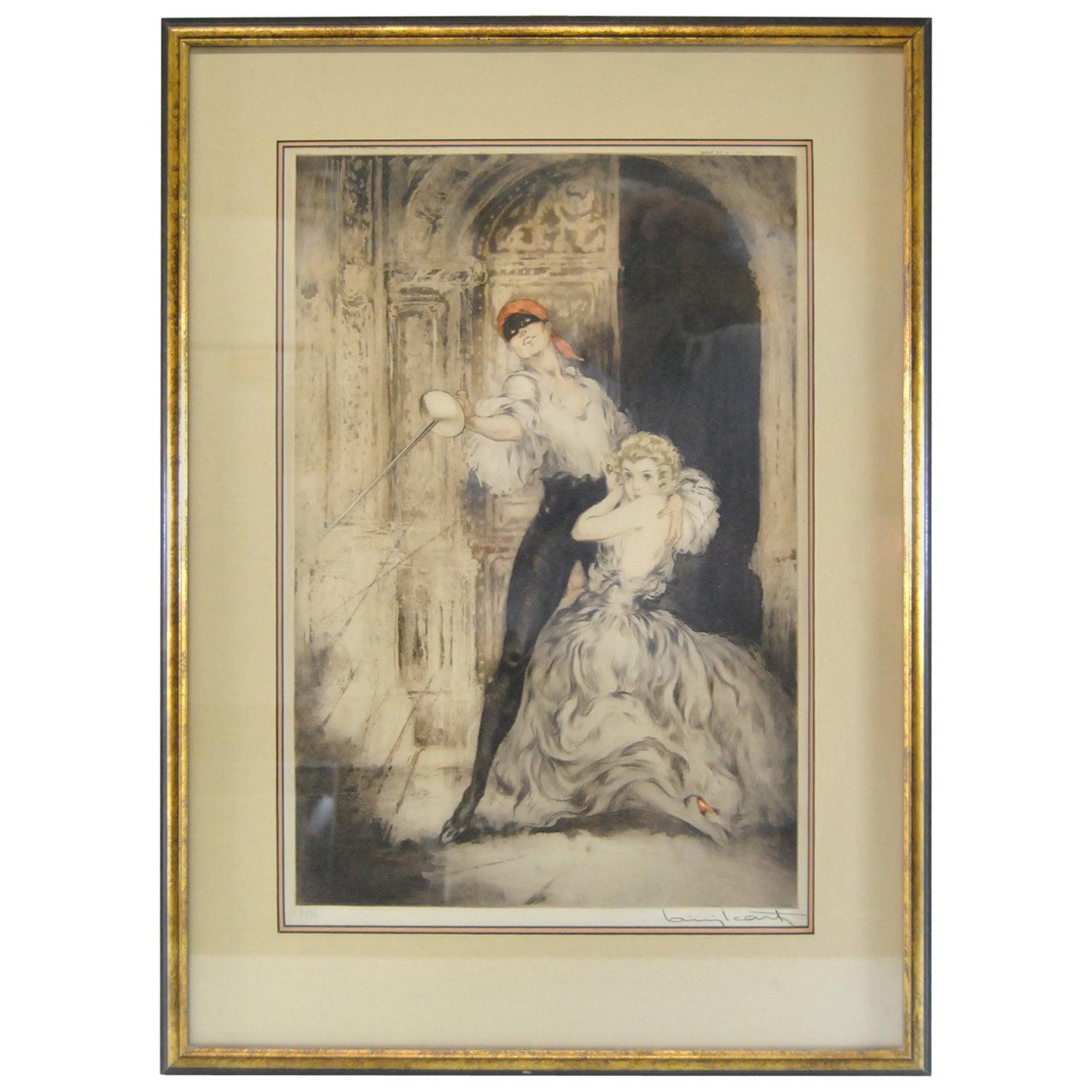 "Louis Icart, ""Don Juan"", 1928"