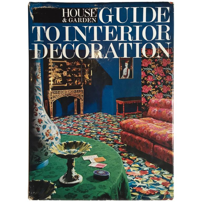 House and Garden, Guide to Interior Decoration, 1967 at 1stdibs