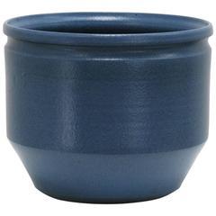 David Cressey and Robert Maxwell Ceramic Planter, Glazed Blue, 1970s