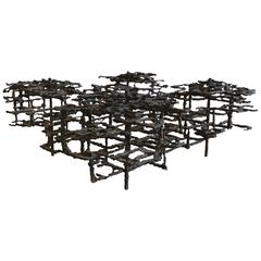 Large Sculptural Coffee Table by Daniel Gluck