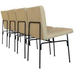 Set of Iron Dining Chairs by Allan Gould