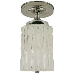 50% OFF SELECTED ITEMS Murano Mid Century Wavey Glass Ceiling Light(5available)