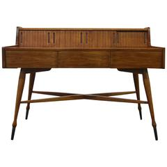Petite Mid-Century Modern Desk