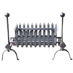 19th Century English Fire Grate or Fire Basket