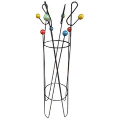 Mid-20th Century Roger Feraud Coat Stand